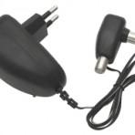TV antenai maitinimo šaltinis 12V 0.1A stabilizuotas su TV kištukas – F lizdais, plug-in