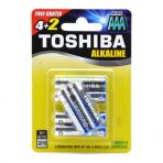 Šarminė baterija LR03GCNN (AAA) 1.5V Toshiba