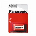 Baterija 6F22 (6LR61, 1604, 1222) 9V Panasonic