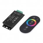 LED RGB juostų valdiklis su distanciniu pulteliu