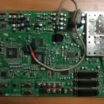 Pagrindinė plokštė MF-056A 6870VM053E(0) 050525 J.S.P