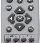 Universalus DV pultas TV programuojamas PC CLASSIC