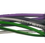 ISO lizdas 8pin su 8 laidais garsiakalbiams