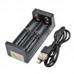 Mikroprocesorinis kroviklis 1-2 Li-ion akumuliatorių celėms 3.7V 10440-26650 per USB